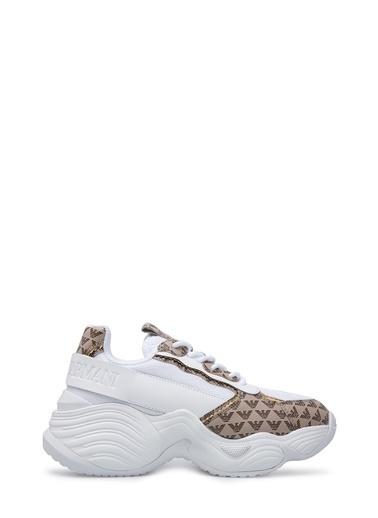 Emporio Armani  Ayakkabı Kadın Ayakkabı X3X088 Xm328 R780 Beyaz